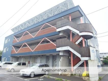 北海道函館市、湯の川温泉駅徒歩19分の築22年 3階建の賃貸アパート