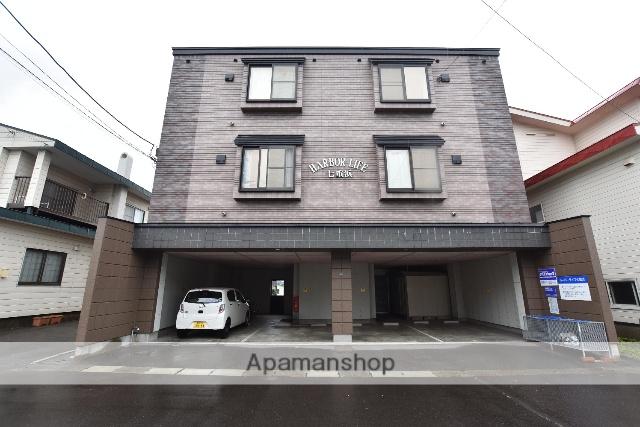 北海道北斗市、七重浜駅徒歩6分の築18年 3階建の賃貸アパート