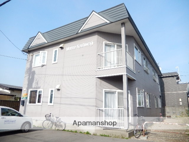 北海道函館市、深堀町駅徒歩10分の築26年 2階建の賃貸アパート