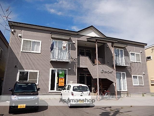 北海道北斗市、七重浜駅徒歩3分の築20年 2階建の賃貸アパート