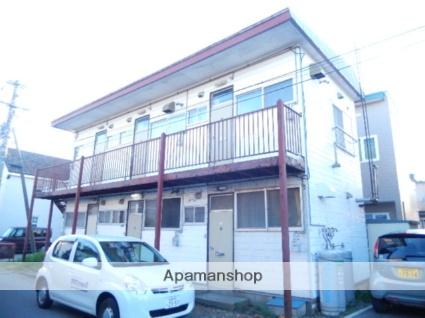 北海道函館市、五稜郭駅徒歩13分の築27年 2階建の賃貸アパート
