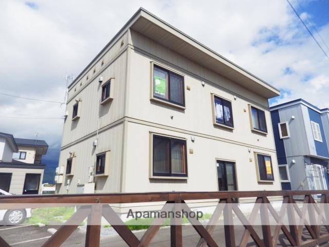 北海道北斗市の築12年 2階建の賃貸アパート