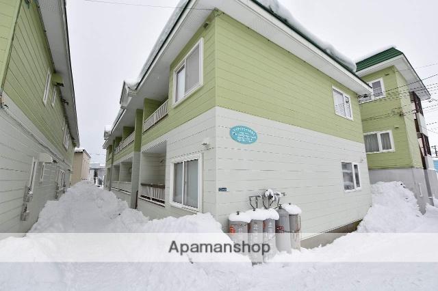 北海道函館市の築26年 2階建の賃貸アパート