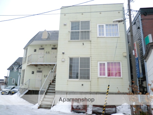 北海道函館市、五稜郭駅徒歩5分の築27年 2階建の賃貸アパート