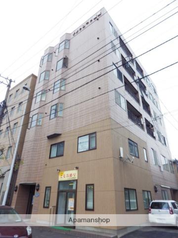 北海道函館市、十字街駅徒歩2分の築26年 6階建の賃貸マンション