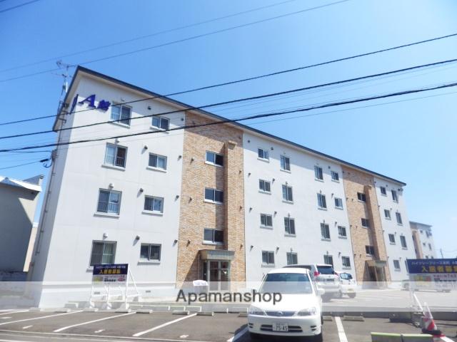 北海道函館市、五稜郭公園前駅徒歩4分の築49年 4階建の賃貸マンション