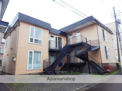 北海道函館市、五稜郭駅徒歩17分の築27年 2階建の賃貸アパート