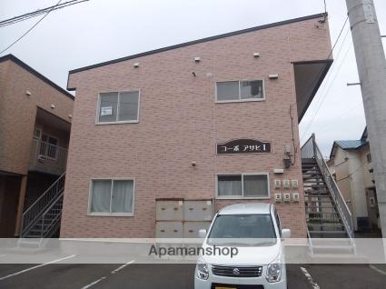 北海道函館市、松風町駅徒歩13分の築27年 2階建の賃貸アパート