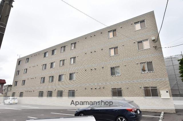北海道函館市、千代台駅徒歩12分の築3年 4階建の賃貸マンション