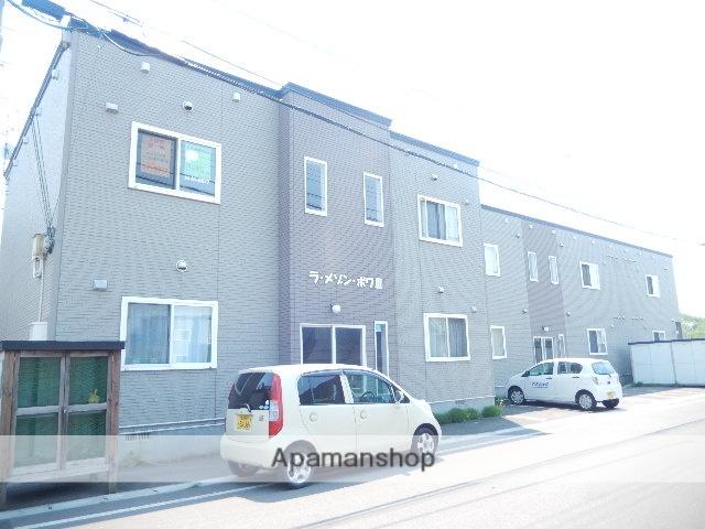北海道北斗市、上磯駅徒歩16分の築13年 2階建の賃貸アパート