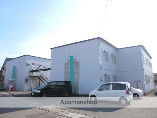 北海道亀田郡七飯町、桔梗駅徒歩16分の築28年 2階建の賃貸アパート