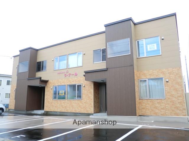 北海道北斗市、七重浜駅徒歩3分の築4年 2階建の賃貸アパート