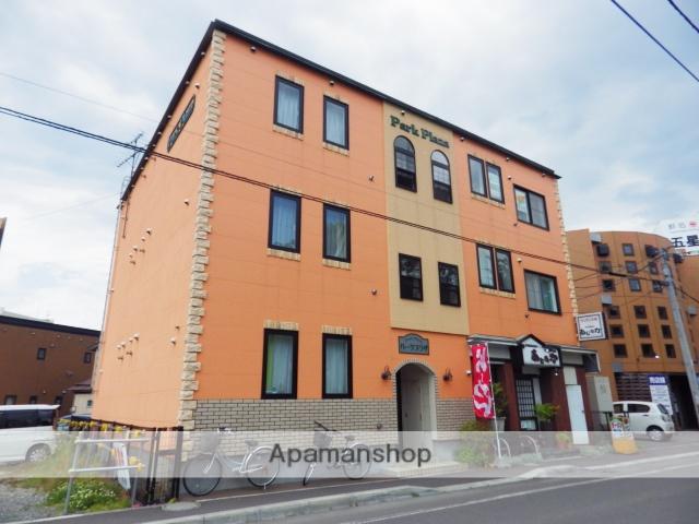 北海道函館市、杉並町駅徒歩12分の築26年 3階建の賃貸マンション