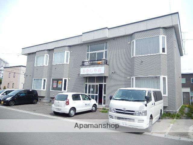 北海道北斗市、東久根別駅徒歩30分の築20年 2階建の賃貸アパート