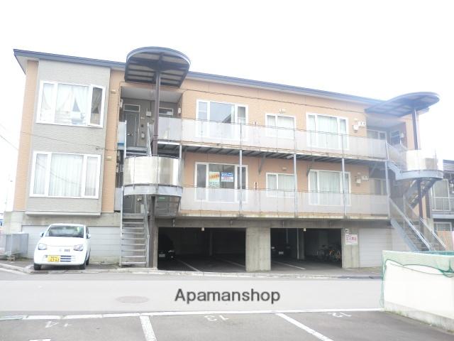 北海道函館市、七重浜駅徒歩12分の築15年 2階建の賃貸アパート