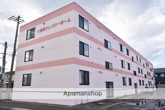 北海道北斗市、久根別駅徒歩11分の築2年 3階建の賃貸マンション
