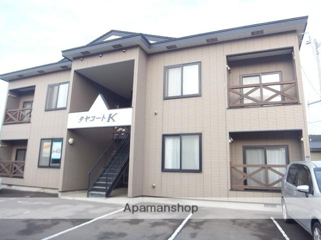北海道函館市、五稜郭駅徒歩14分の築17年 2階建の賃貸アパート
