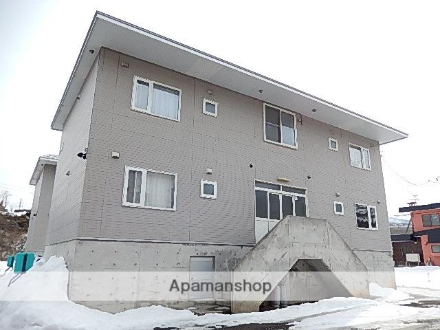 北海道茅部郡森町、森駅徒歩17分の築22年 3階建の賃貸アパート