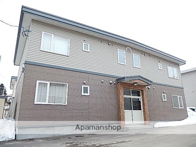 北海道茅部郡森町、森駅徒歩17分の築16年 2階建の賃貸アパート