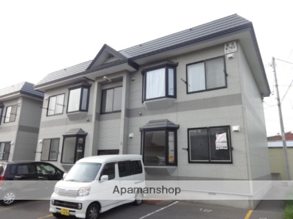北海道函館市の築16年 2階建の賃貸アパート