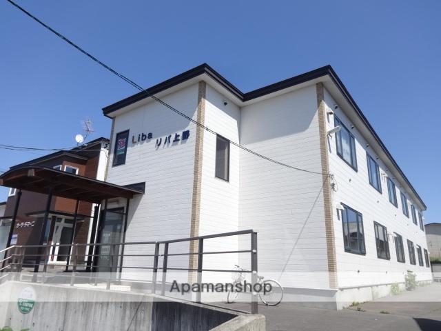 北海道函館市、湯の川駅徒歩13分の築22年 2階建の賃貸アパート