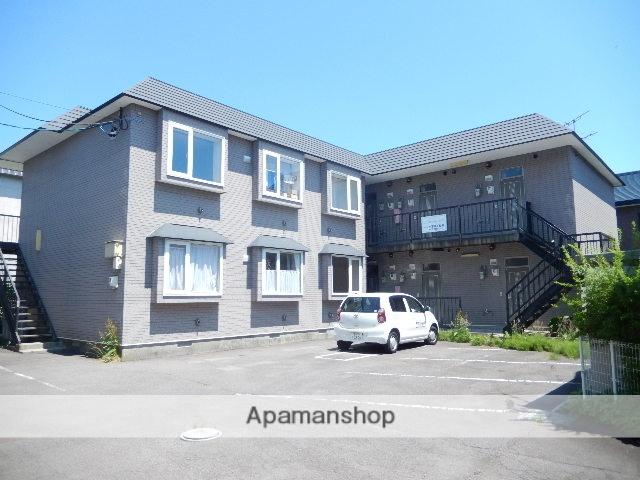 北海道函館市、湯の川駅徒歩19分の築18年 2階建の賃貸アパート