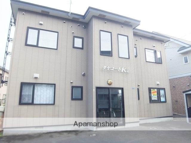 北海道函館市、五稜郭駅徒歩14分の築14年 2階建の賃貸アパート