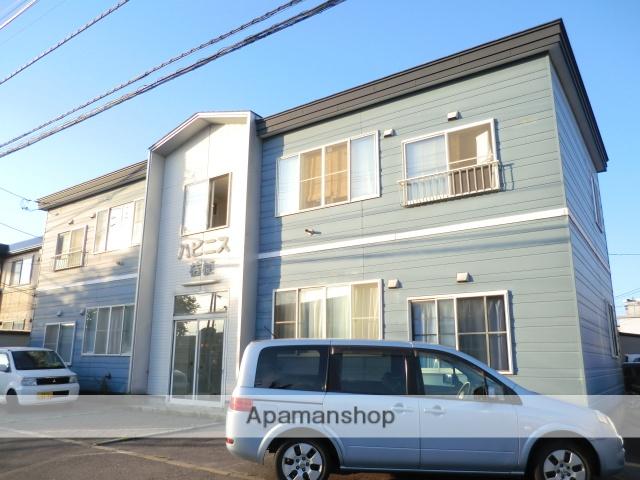 北海道函館市、七重浜駅徒歩16分の築20年 2階建の賃貸アパート