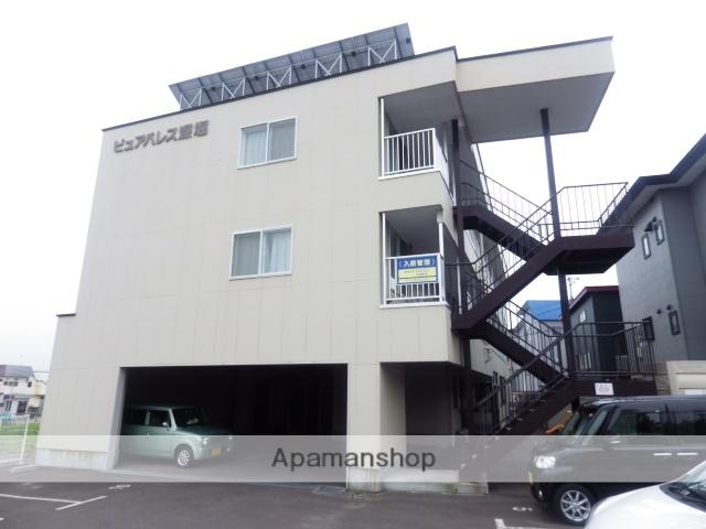 北海道函館市、駒場車庫前駅徒歩12分の築12年 3階建の賃貸マンション