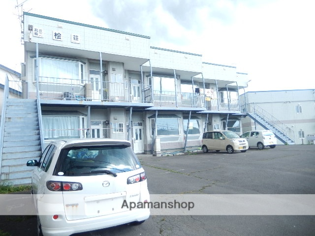 北海道函館市の築23年 2階建の賃貸アパート