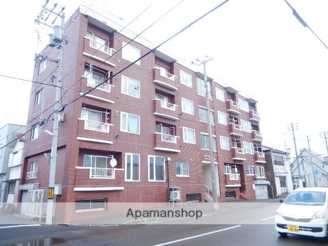 北海道函館市、宝来町駅徒歩6分の築29年 4階建の賃貸アパート
