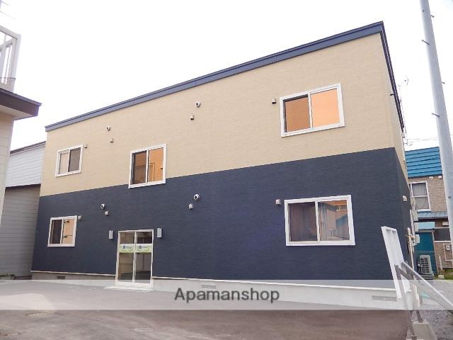 北海道函館市、堀川町駅徒歩18分の築2年 2階建の賃貸アパート