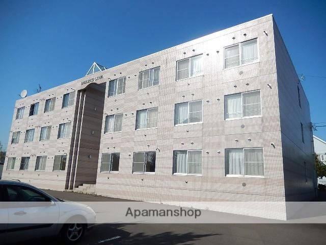 北海道亀田郡七飯町、大中山駅徒歩8分の築23年 3階建の賃貸マンション