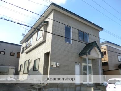 北海道北斗市、東久根別駅徒歩15分の築19年 2階建の賃貸アパート