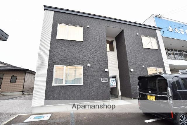 北海道函館市、五稜郭駅徒歩12分の新築 2階建の賃貸アパート