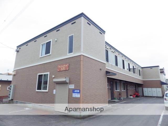 北海道函館市、杉並町駅徒歩13分の築15年 2階建の賃貸アパート