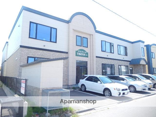 北海道函館市、杉並町駅徒歩8分の築12年 2階建の賃貸アパート