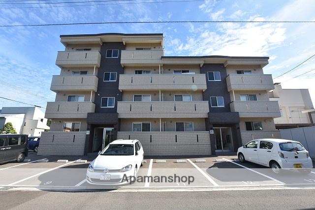 北海道函館市、競馬場前駅徒歩13分の新築 4階建の賃貸マンション