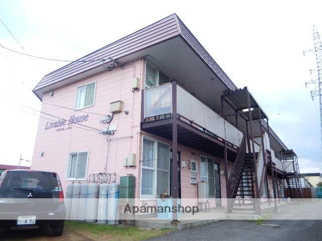 北海道二海郡八雲町、八雲駅徒歩12分の築23年 2階建の賃貸アパート