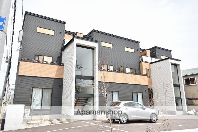北海道函館市、深堀町駅徒歩8分の新築 3階建の賃貸アパート