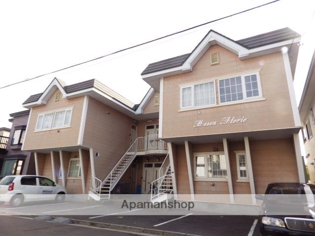 北海道函館市、堀川町駅徒歩10分の築21年 2階建の賃貸アパート