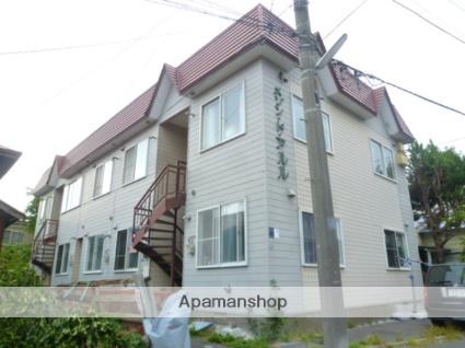 北海道函館市、五稜郭公園前駅徒歩15分の築27年 2階建の賃貸アパート