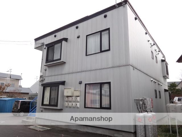北海道函館市の築14年 2階建の賃貸アパート