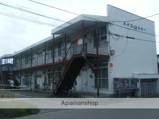 北海道函館市、競馬場前駅徒歩18分の築27年 2階建の賃貸アパート