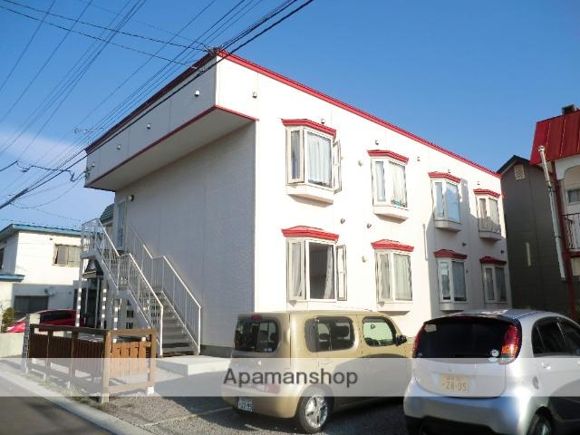 北海道北斗市、七重浜駅徒歩8分の築6年 2階建の賃貸アパート