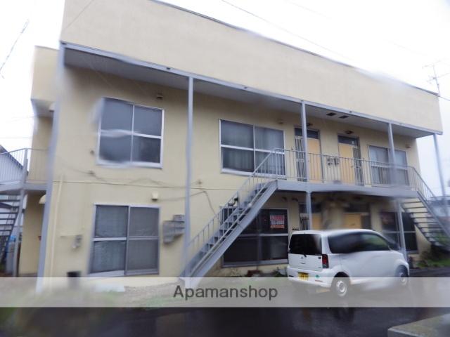 北海道函館市、湯の川温泉駅徒歩10分の築39年 2階建の賃貸アパート