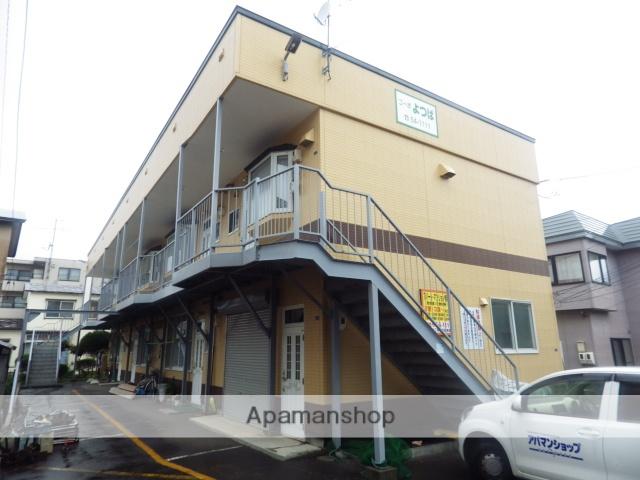 北海道函館市、駒場車庫前駅徒歩9分の築17年 2階建の賃貸アパート