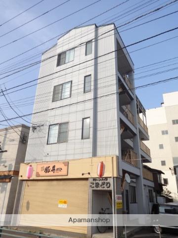北海道函館市、宝来町駅徒歩4分の築27年 4階建の賃貸アパート