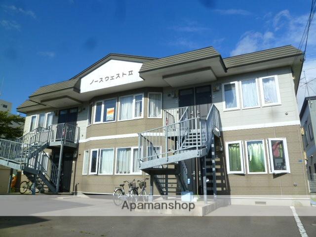 北海道函館市、七重浜駅徒歩14分の築20年 2階建の賃貸アパート