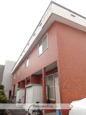 北海道函館市、五稜郭駅徒歩16分の築22年 2階建の賃貸アパート